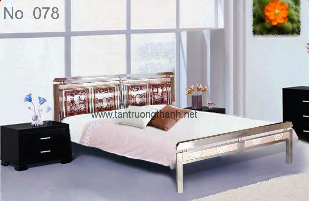 Giường ngủ inox - No 078